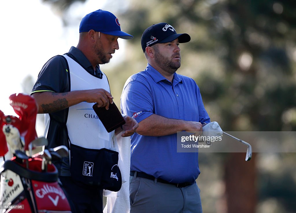 <a gi-track='captionPersonalityLinkClicked' href=/galleries/search?phrase=Colt+Knost&family=editorial&specificpeople=4466966 ng-click='$event.stopPropagation()'>Colt Knost</a> prepares to tee off on the third tee during the first round of the Barracuda Championship at the Montreux Golf and Country Club on June 30, 2016 in Reno, Nevada.