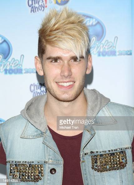 Colton Dixon attends the American Idol Live photo op held at Nokia Theatre LA Live on July 23 2012 in Los Angeles California