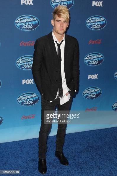 Colton Dixon attends the FOX's 'American Idol' Season 12 Premiere at Royce Hall on the UCLA Campus on January 9 2013 in Westwood California