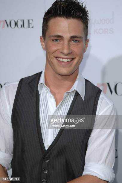 Colton Haines attends '8th Annual Teen Vogue Young Hollywood Party' for Red Carpet at Paramount Studios on October 1 2010 in Hollywood California