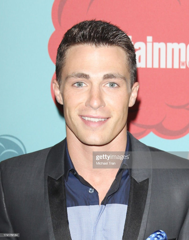 <a gi-track='captionPersonalityLinkClicked' href=/galleries/search?phrase=Colton+Haynes&family=editorial&specificpeople=4282136 ng-click='$event.stopPropagation()'>Colton Haynes</a> arrives at the Entertainment Weekly's Annual Comic-Con celebration held at Float at Hard Rock Hotel San Diego on July 20, 2013 in San Diego, California.