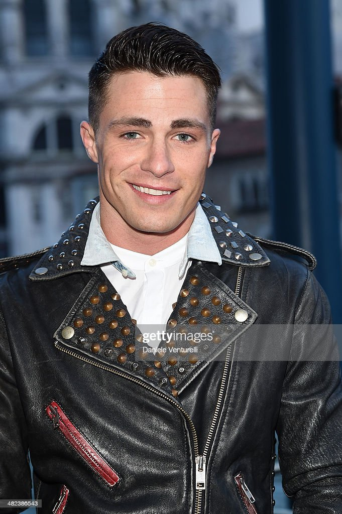 <a gi-track='captionPersonalityLinkClicked' href=/galleries/search?phrase=Colton+Haynes&family=editorial&specificpeople=4282136 ng-click='$event.stopPropagation()'>Colton Haynes</a> attends Diesel FW14 Collection Presentation Cocktail at Gritti Palace on April 3, 2014 in Venice, Italy.