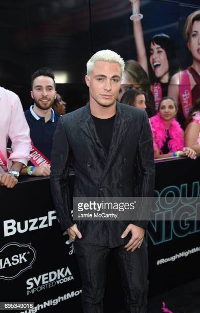 Colton Haynes attends New York Premiere of Sony's ROUGH NIGHT presented by SVEDKA Vodka at AMC Lincoln Square Theater on June 12 2017 in New York City