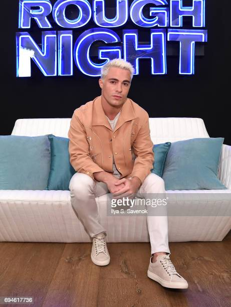Colton Haynes attends 'Rough Night' Photo Call at Crosby Street Hotel on June 10 2017 in New York City