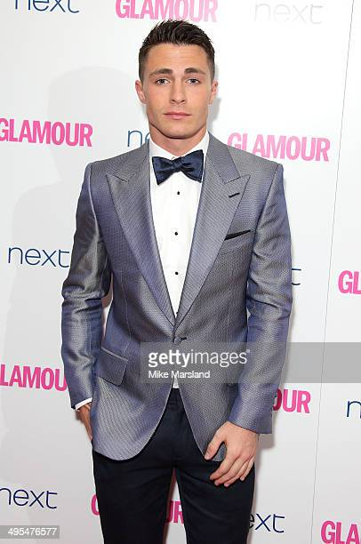 Colton Haynes attends the Glamour Women of the Year Awards at Berkeley Square Gardens on June 3 2014 in London England