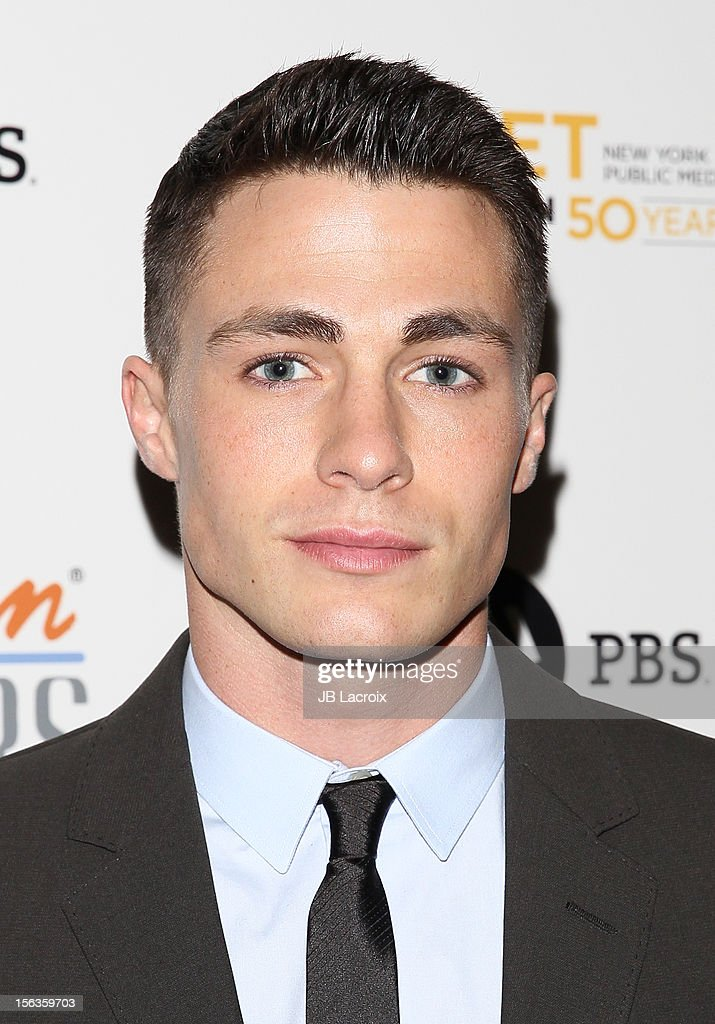 Colton Haynes attends the 'Inventing David Geffen' Los Angeles Premiere held at Writer's Guild Theater on November 13, 2012 in Los Angeles, California.