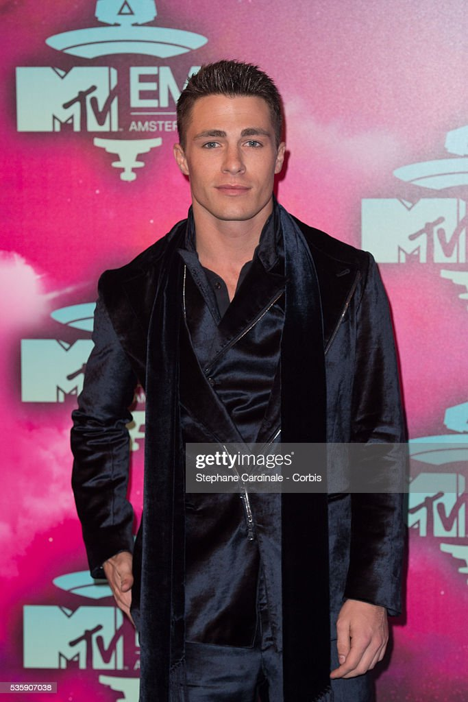 Colton Haynes attends the MTV EMA's 2013 at the Ziggo Dome in Amsterdam, Netherlands.