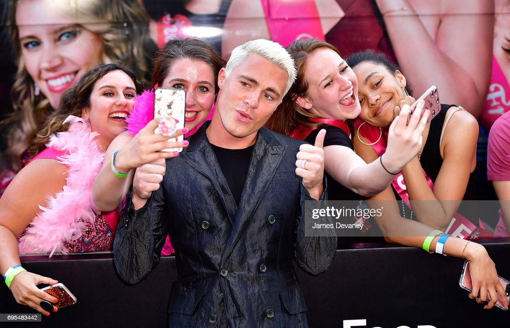 Colton Haynes attends the 'Rough Night' New York Premeire at AMC Lincoln Square Theater on June 12, 2017 in New York City.