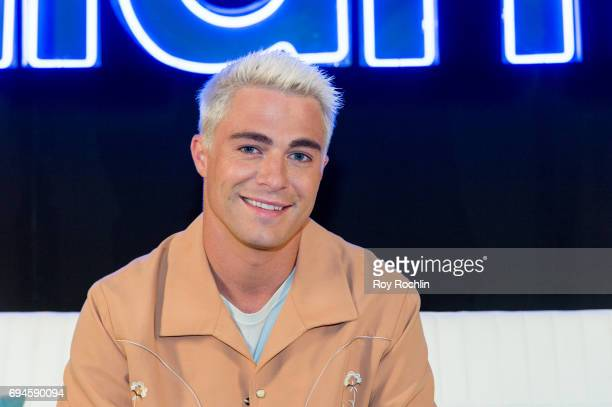 Colton Haynes attends the 'Rough Night' photo call at Crosby Street Hotel on June 10 2017 in New York City