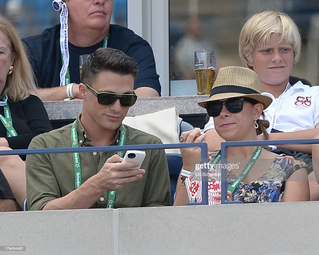 Colton Heynes attends the 2013 US Open at USTA Billie Jean King National Tennis Center on September 3, 2013 in New York City.