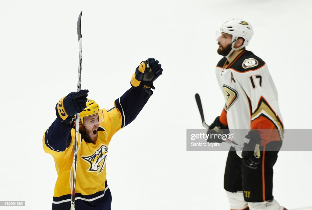 Predators Sink Ducks to Reach First Stanley Cup Final