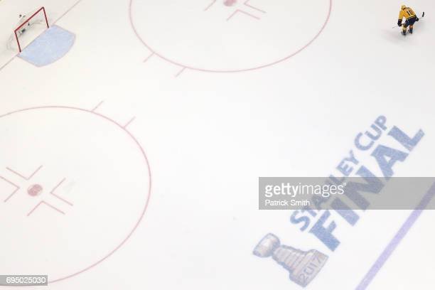 Colton Sissons of the Nashville Predators is dejected after losing to the Pittsburgh Penguins 20 in Game Six of the 2017 NHL Stanley Cup Final at the...