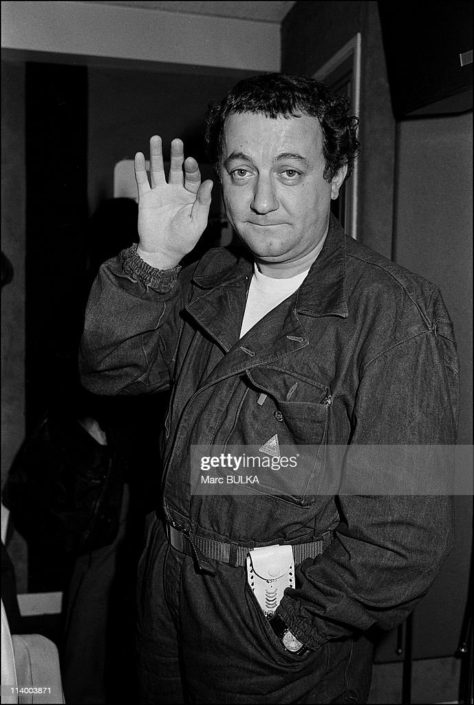 <a gi-track='captionPersonalityLinkClicked' href=/galleries/search?phrase=Coluche&family=editorial&specificpeople=1722539 ng-click='$event.stopPropagation()'>Coluche</a>, Presidential Candidature In France On November 18, 1980.