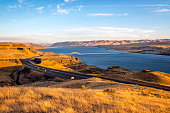 Columbia River and Vantage Bridge I-90