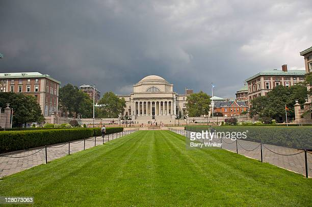 Columbia University, main quad with Low Memorial Library, Upper West Side, New York, NY, U.S.A.