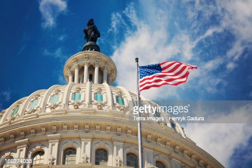 USA, Columbia, Washington DC, Capitol Building