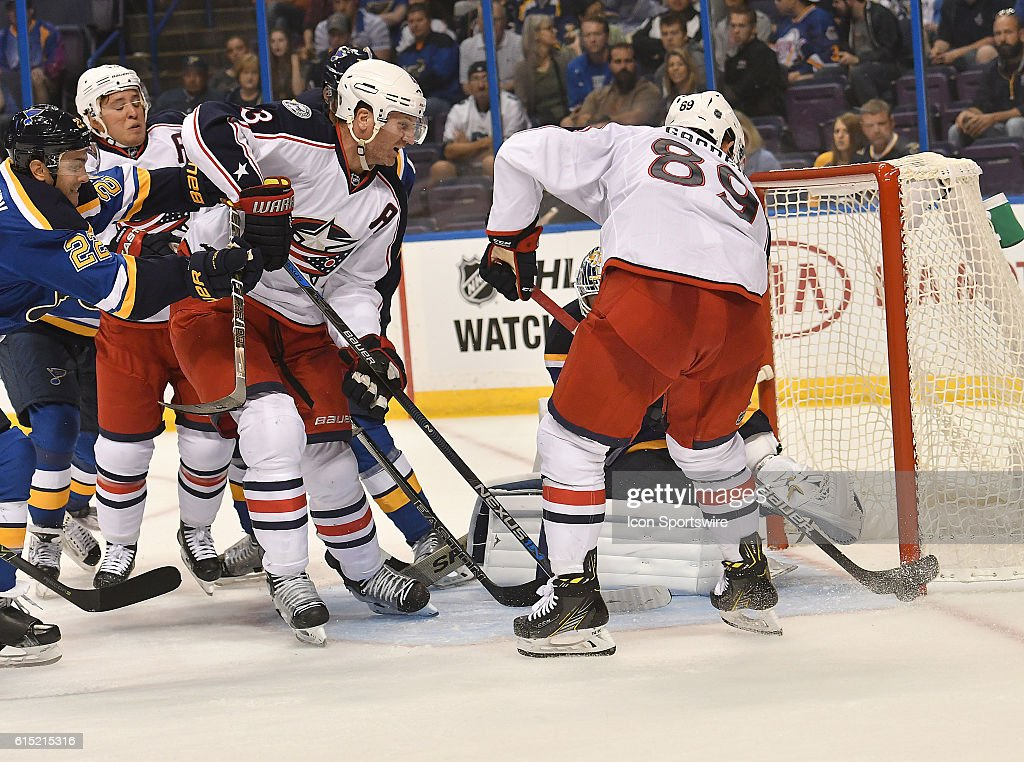 NHL: SEP 25 Preseason - Blue Jackets at Blues Pictures | Getty Images
