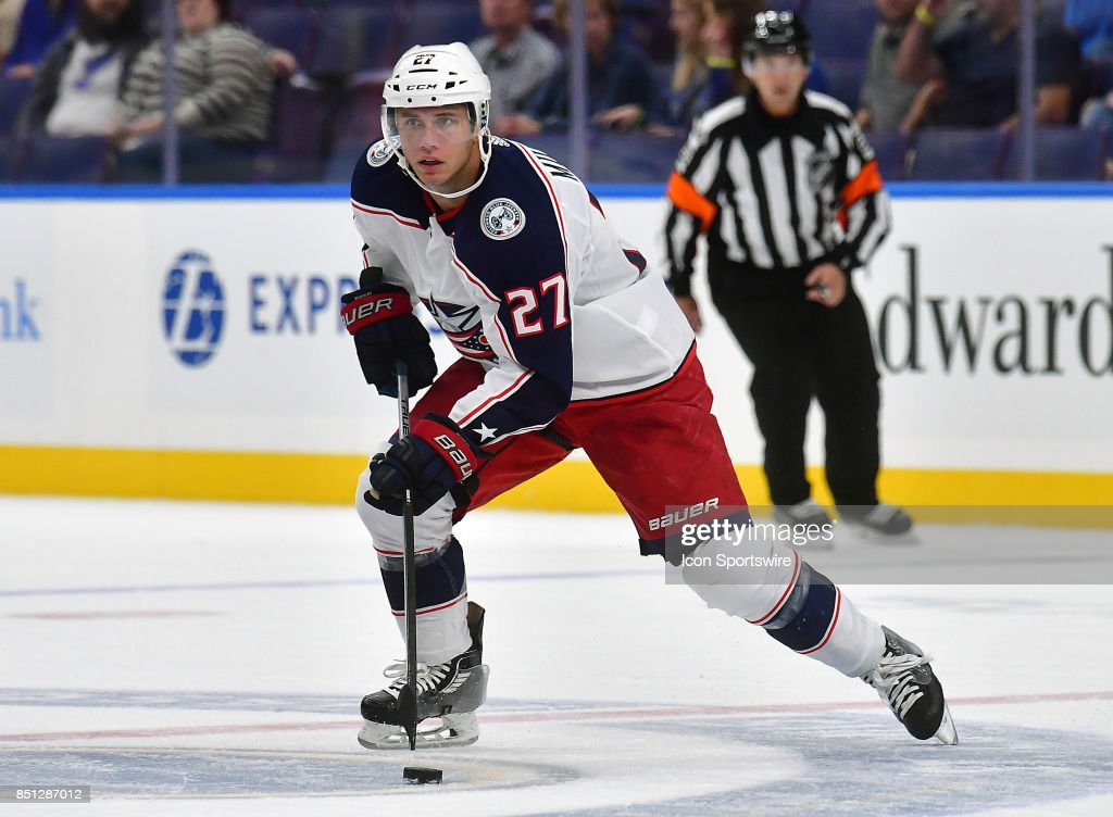 NHL: SEP 20 Preseason - Blue Jackets at Blues Pictures   Getty Images