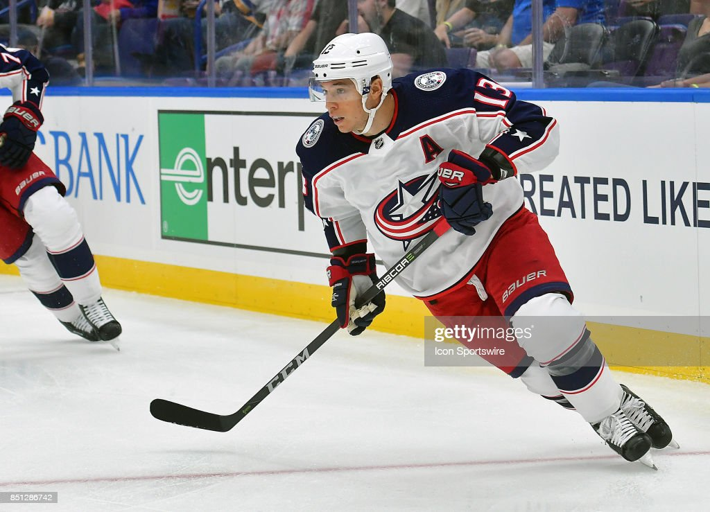 NHL: SEP 20 Preseason - Blue Jackets at Blues Pictures | Getty Images