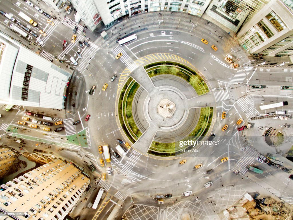 Columbus circle : Stock Photo