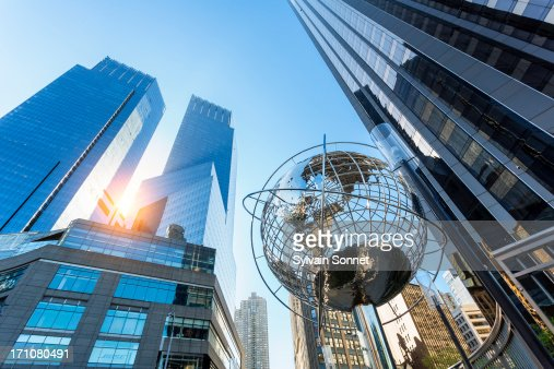 Columbus Circle, Time Warner Center, New York City : Stock Photo