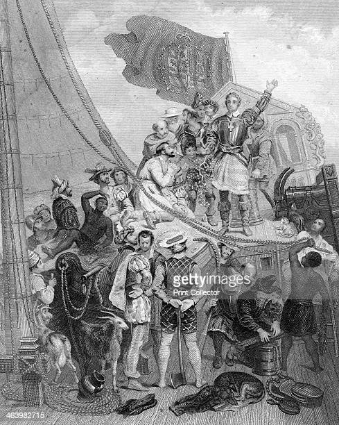 Columbus 'discovering' America Sponsored by Ferdinand and Isabella of Spain Christopher Columbus set out to discover a westward route to Asia He...