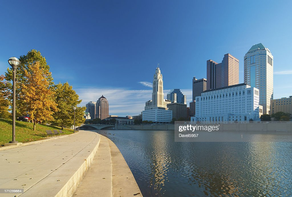'Columbus, OH riverfront'
