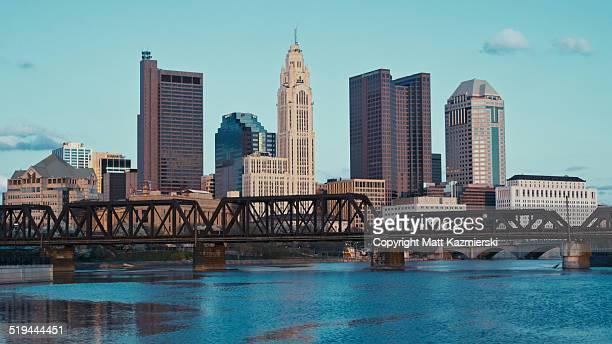 Columbus Ohio Skyline Widescape