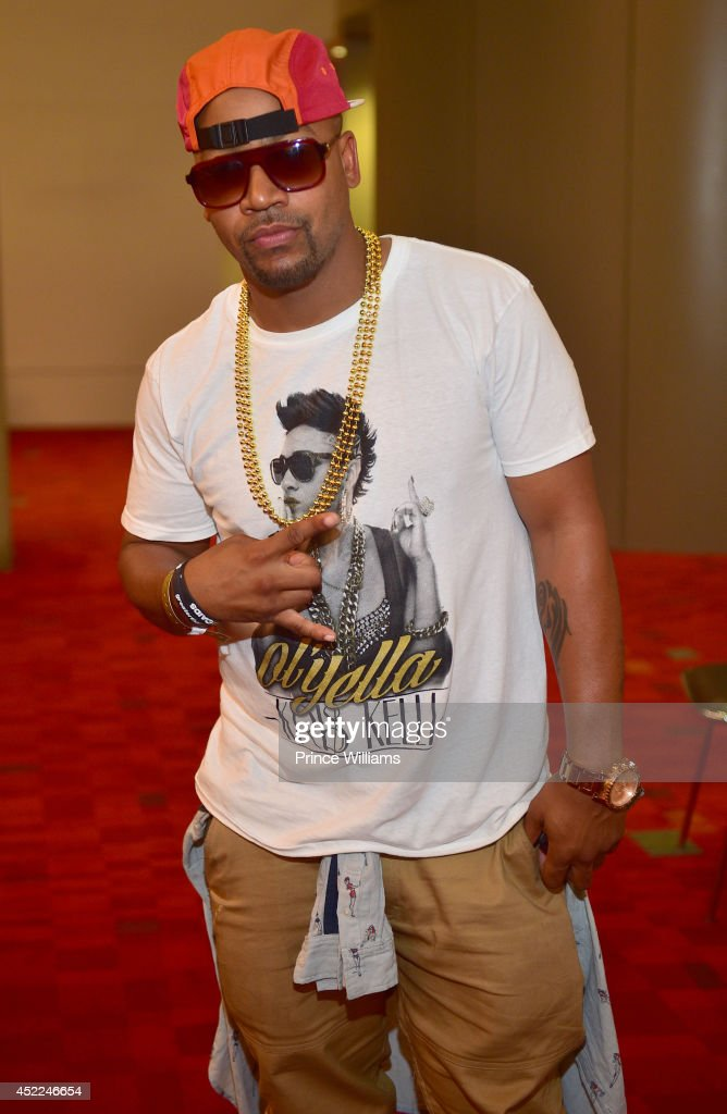 Columbus Short attends the 2014 V103/WAOK Car Bike Show at Georgia World Congress Center on July 12 2014 in Atlanta Georgia