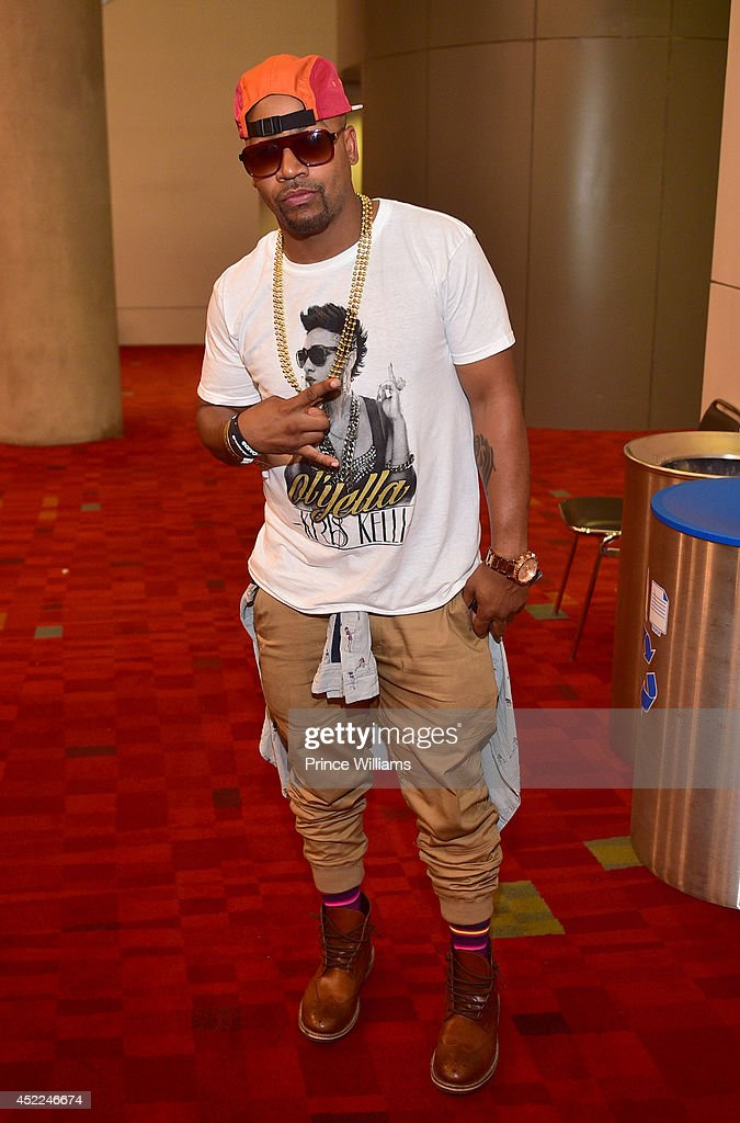 <a gi-track='captionPersonalityLinkClicked' href=/galleries/search?phrase=Columbus+Short&family=editorial&specificpeople=536546 ng-click='$event.stopPropagation()'>Columbus Short</a> attends the 2014 V-103/WAOK Car & Bike Show at Georgia World Congress Center on July 12, 2014 in Atlanta, Georgia.