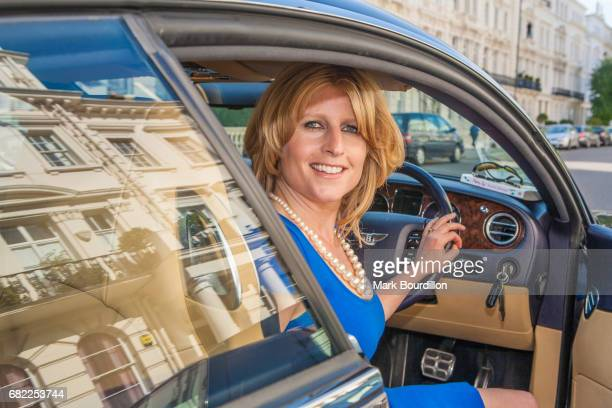 Columnist and editor Rachel Johnson is photographed for the Sunday Times on July 26 2016 in London England