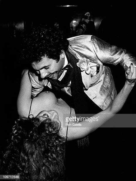 Columnist Couri Hay attends the birthday party for Valentino on May 11 1978 at Studio 54 in New York City