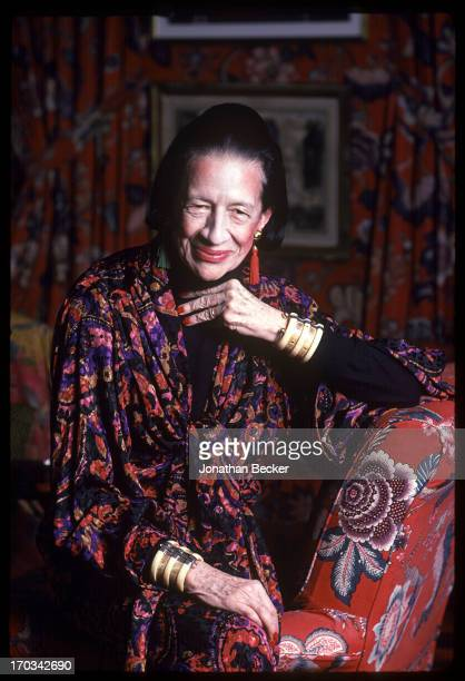 Diana Vreeland Stock Photos And Pictures Getty Images