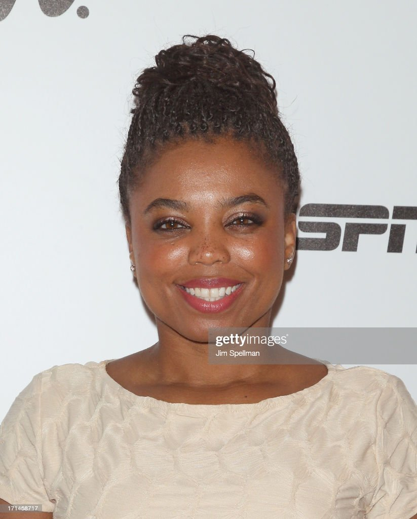 Columnist Jemele Hill attends 'Venus Vs' and 'Coach' New York Special Screening at Paley Center For Media on June 24 2013 in New York City