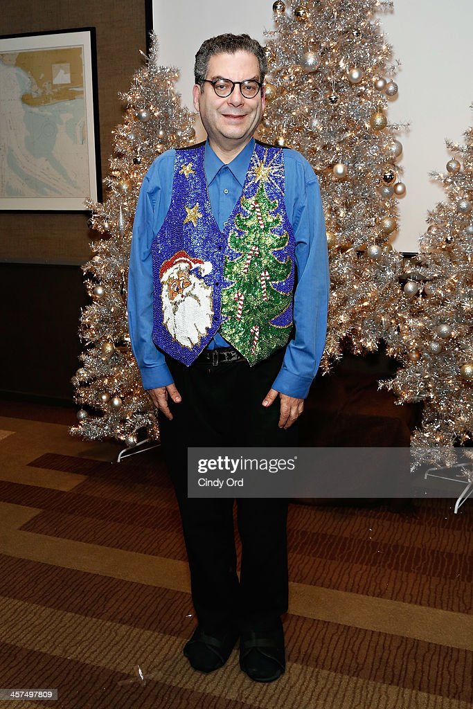 Columnist <a gi-track='captionPersonalityLinkClicked' href=/galleries/search?phrase=Michael+Musto&family=editorial&specificpeople=221292 ng-click='$event.stopPropagation()'>Michael Musto</a> attends the 'Tis The Season' annual toy drive hosted by Susanne Bartsch and <a gi-track='captionPersonalityLinkClicked' href=/galleries/search?phrase=David+Barton+-+Body+Builder&family=editorial&specificpeople=4547890 ng-click='$event.stopPropagation()'>David Barton</a> on December 17, 2013 in New York City.