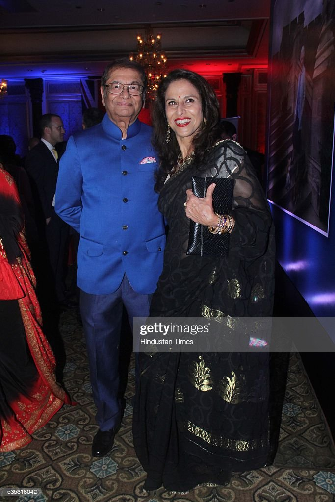 Columnist Shobhaa De (R) during the 90th birthday celebrations of Queen Elizabeth II, hosted by the British Deputy High Commissioner Shekhar Iyer, at Crystal Room, Taj Mahal Palace, Colaba on May 26, 2016 in Mumbai, India. Hollywood actor McKellen said, 'I am thankful to the British Council who got me here. It's touching to make contact with other people from theatre, film and Bollywood.'