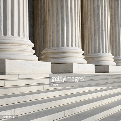 Columns at Supreme Court Building