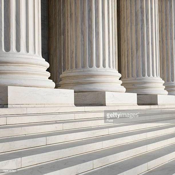 Columns at Supreme Court Building