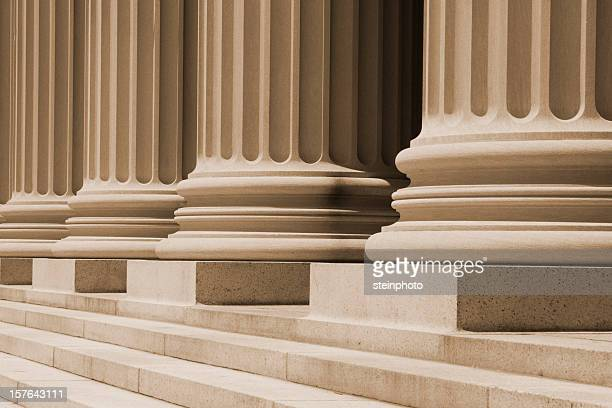 Columns At The Courthouse
