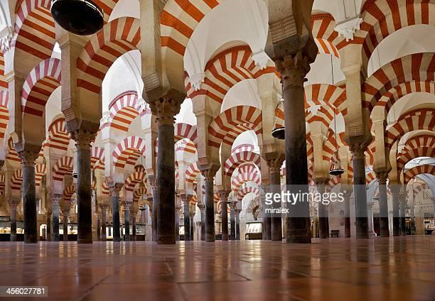 Columns of La Mezquita Cathedral (C?rdoba Mosque)