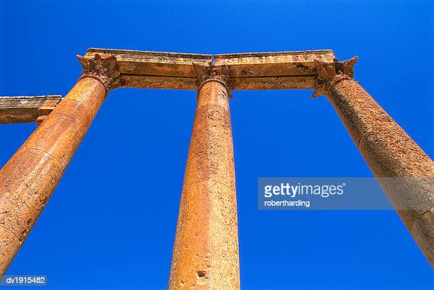 Columns of the Cardo in Jerash, Jordan