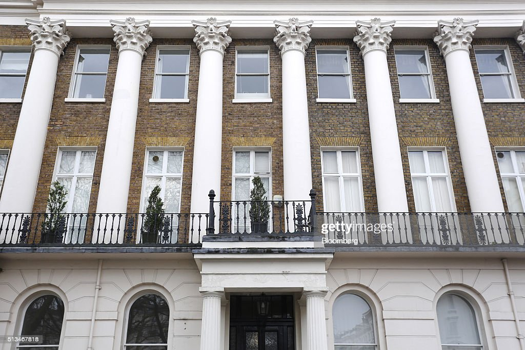 Luxury property as prices in central london fall most for House columns prices