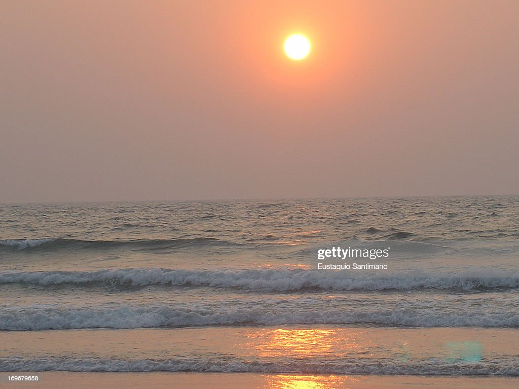 Colva Sunset : Stock Photo