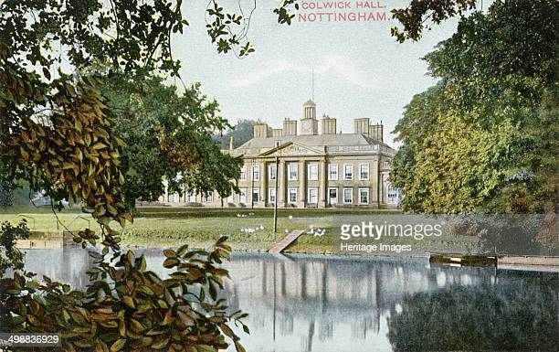 Colwick Hall Colwick Nottinghamshire c1900 Colwick Hall stands on a site which has been occupied ever since Saxon times In the time of the Domesday...