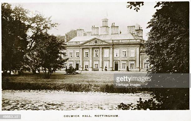 Colwick Hall Colwick Nottinghamshire c1900s Colwick Hall stands on a site which has been occupied ever since Saxon times In the time of the Domesday...
