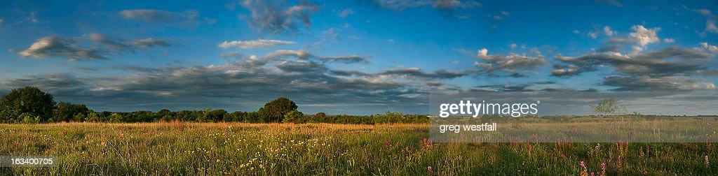 Comanche County Panoramic : Stock Photo
