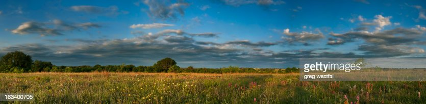 Comanche County Panoramic : Stock Photo