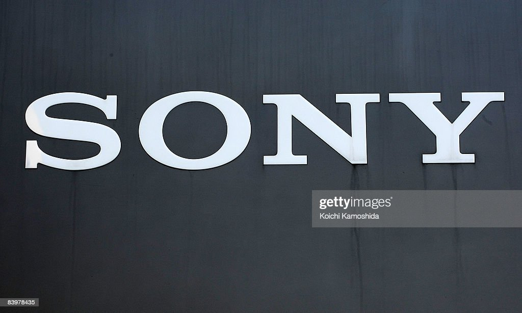 Comany's sign board is displayed at Sony Corporation's headquarters on December 10, 2008 in Tokyo, Japan. Sony announced yesterday to slash 8,000 jobs and 8,000 temporary and contract workers following the recent global downturn, to cut cost by USD 1.1 billion a year.