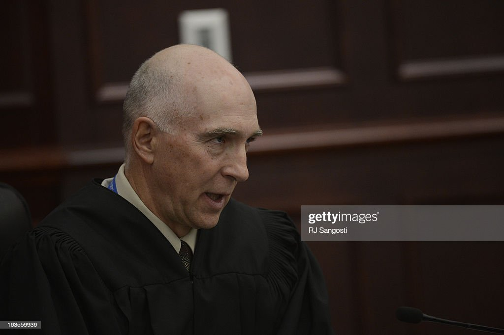District Court Judge William Sylvester entered a Not Guilty plea on behalf of Holmes. The trial is set to begin August 5, 2013. The arraignment for Aurora theater shooting suspect James Holmes for the July 20, 2012 shooting at the Century 16 theater in Aurora, CO that killed 12 people and injured 70 others.