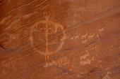 Comb Ridge Petroglyph Panel - Utah, USA